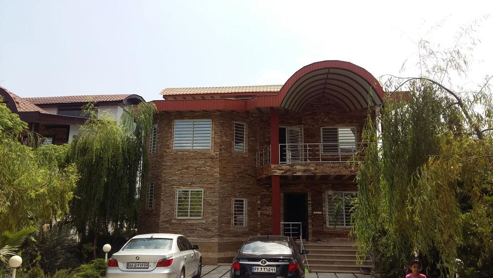 فروش ویلا دوبلکس با سند شش دانگ و مجوز ساخت ، نوشهر داخل شهرک  لتینگان