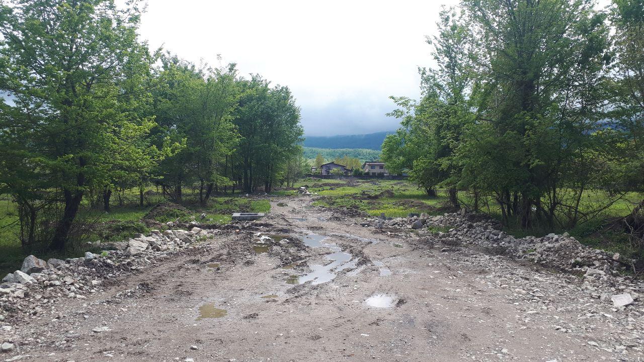 خرید زمین قواره دار با سند در ونوش، شمال
